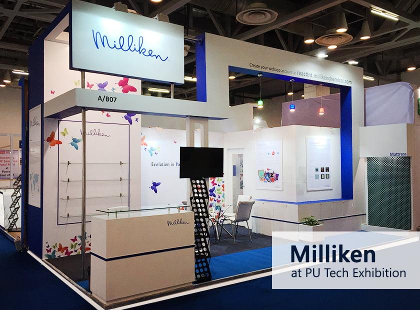 Milliken PU Tech Exhibition