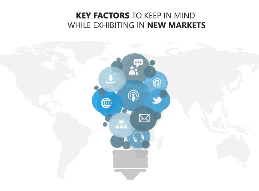 Key Factors to Keep in Mind While Exhibiting in New Markets