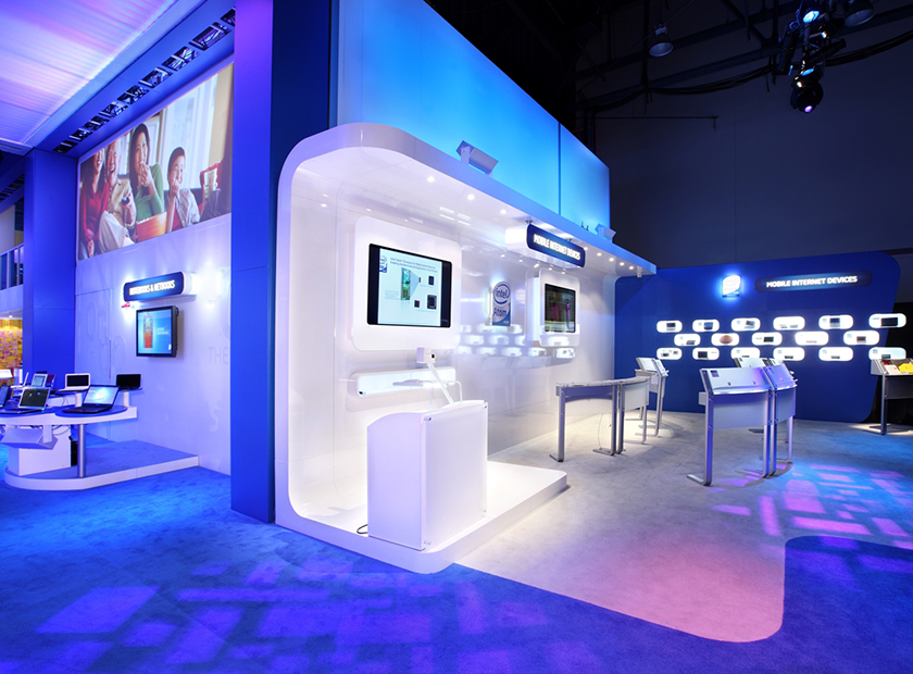 The Magic of Incorporating LED Lightings into Trade Show Booths