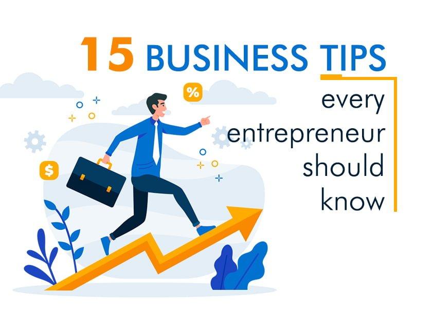 business tips for entrepreneurs