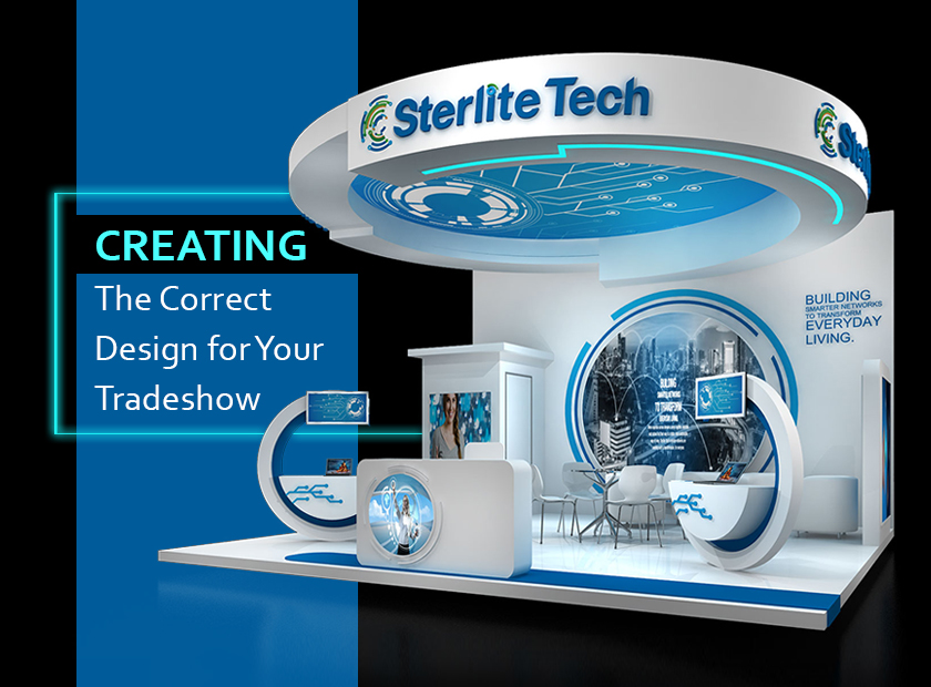 Creating The Correct Design for Your Next Exhibition or Tradeshow