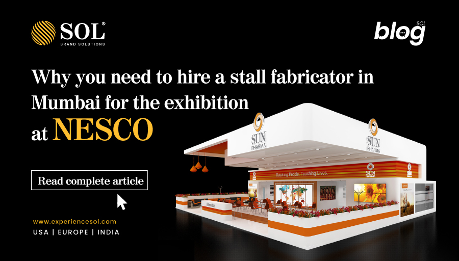 Hire a Stall Fabricator in Mumbai for your Next Exhibition at NESCO