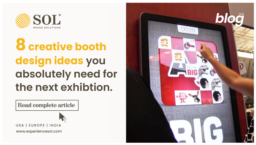 The Most Creative Booth Design Ideas