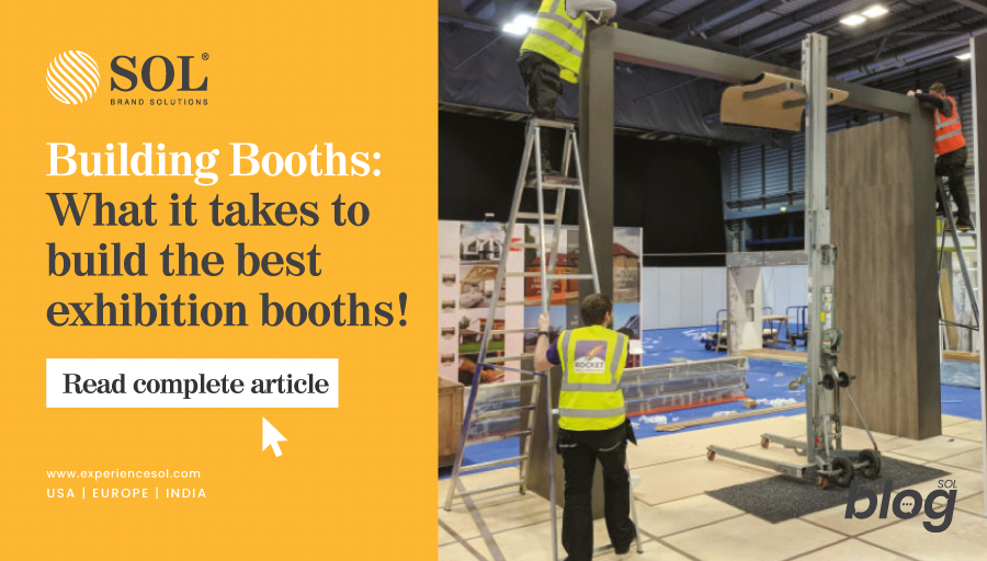 8 Elements of the best trade show booth