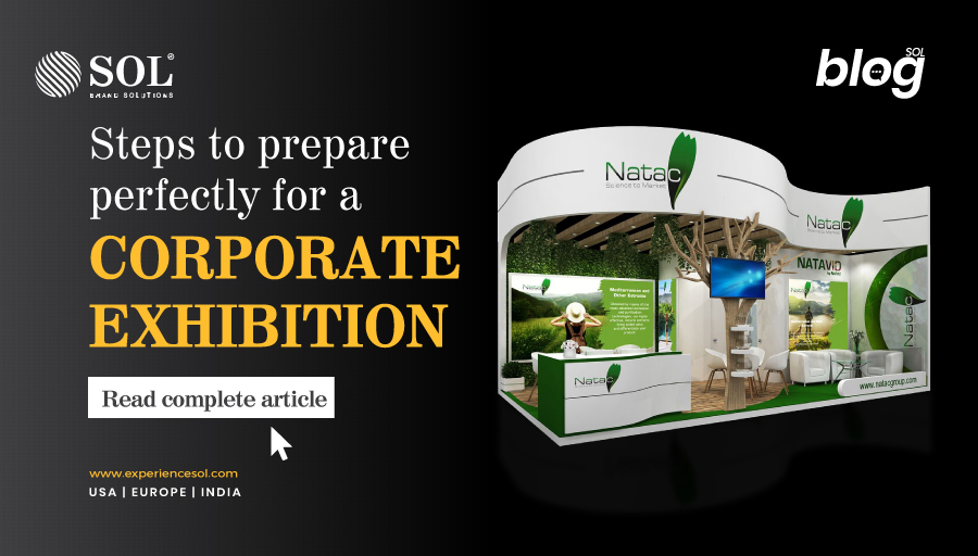 How to prepare for a corporate exhibition