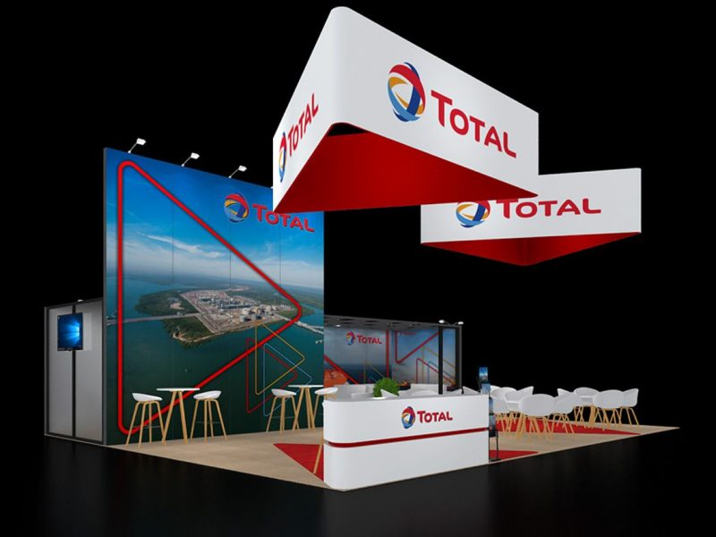 Booth banners