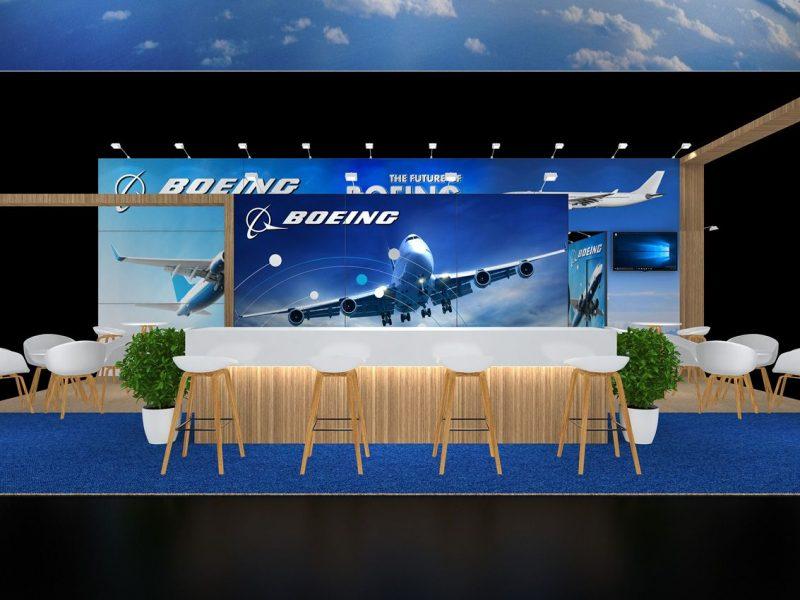 Custom Built exhibition stands