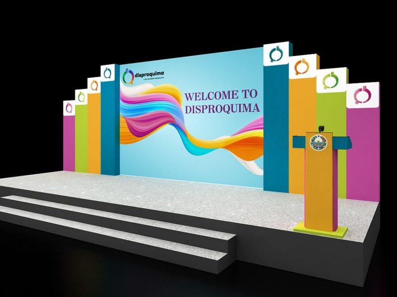 Creative booth design